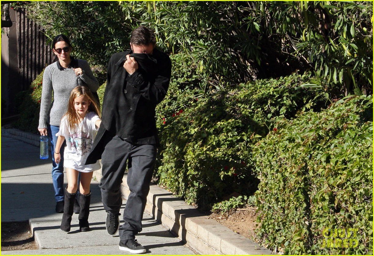 courteney cox david arquette coco meeting 022614023