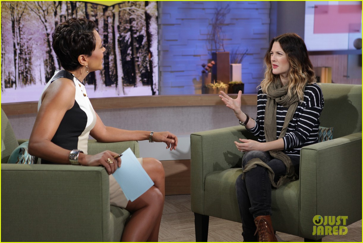 drew barrymore good morning america 02