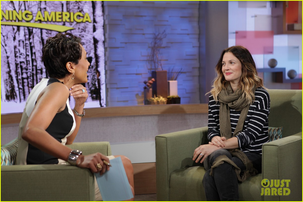 drew barrymore good morning america 032621803