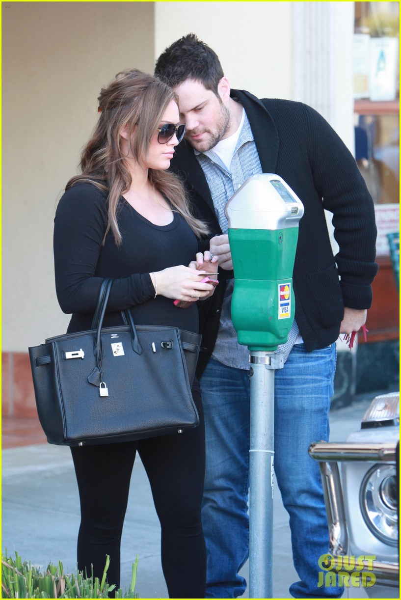 hilary duff mike comrie checkup doctor 08