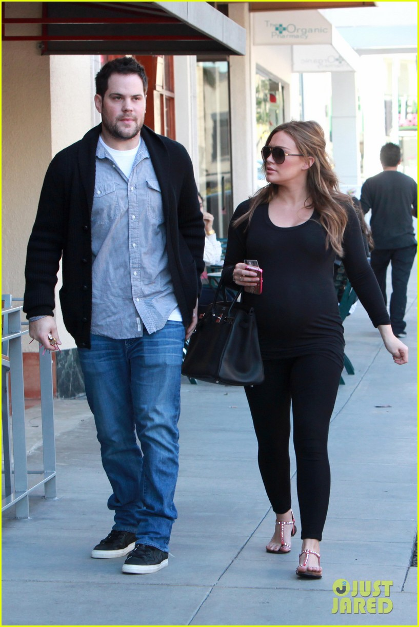 hilary duff mike comrie checkup doctor 092621911