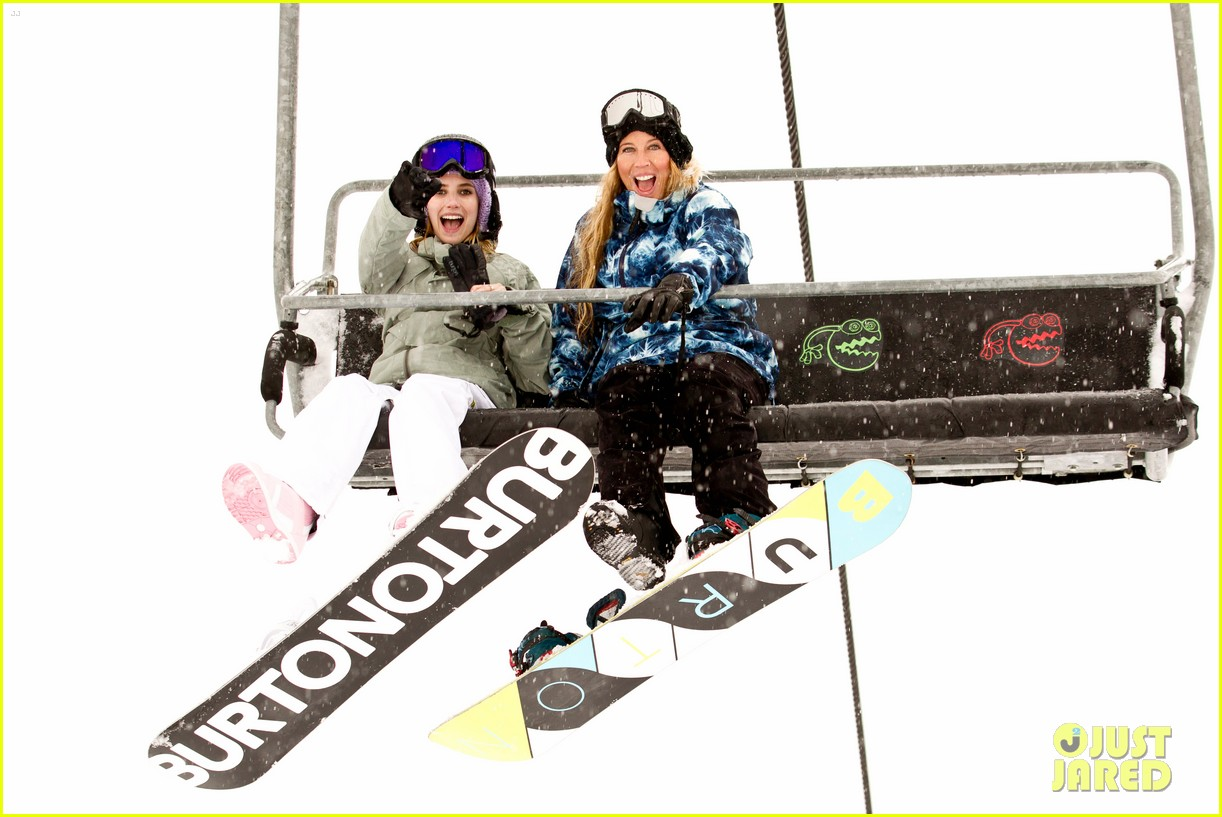 emma roberts burton snowboarding 032620837
