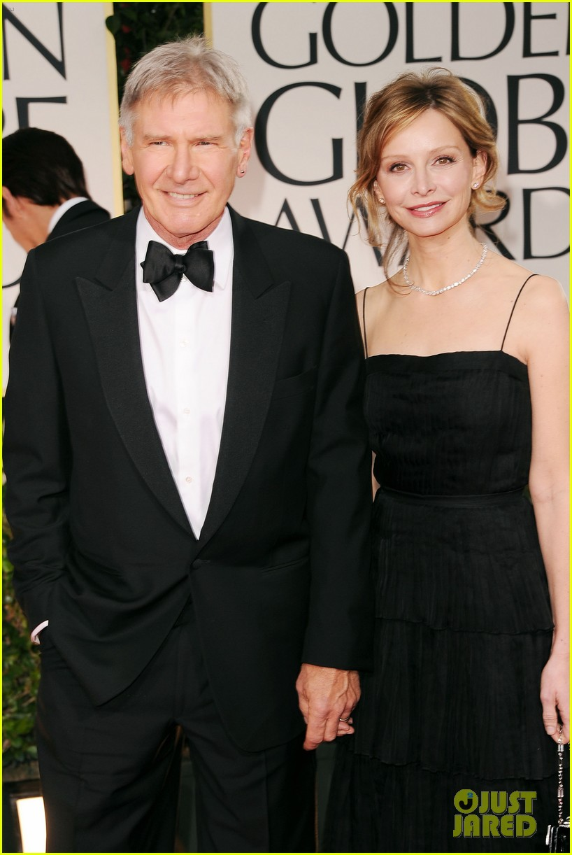 harrison ford calista golden globes 012618570
