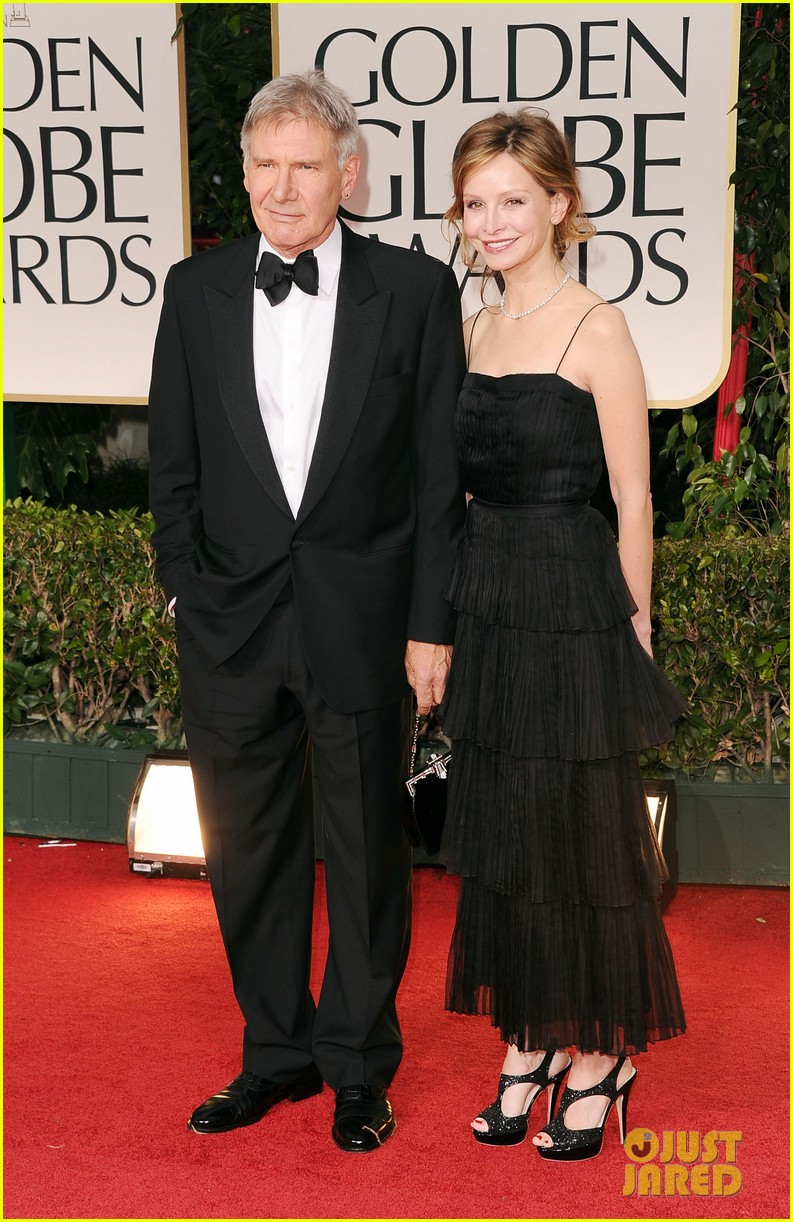 harrison ford calista golden globes 032618572