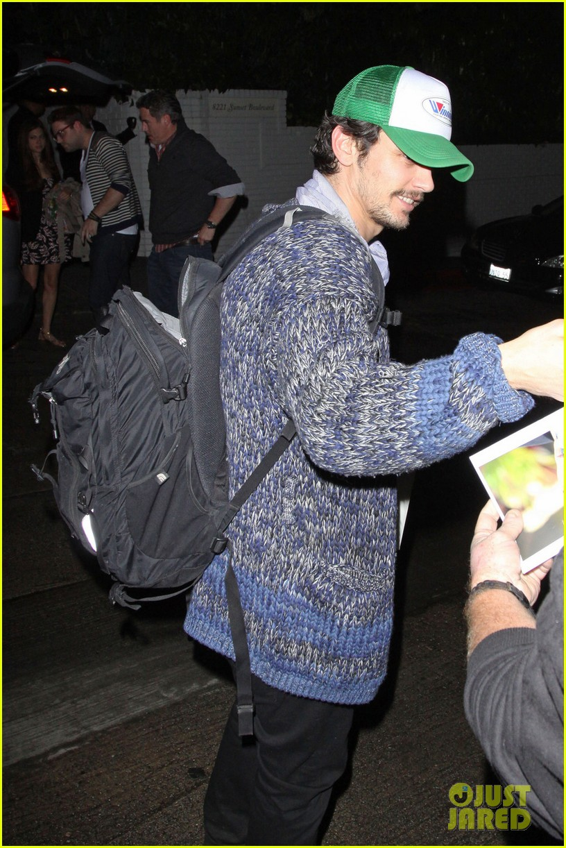 james franco trucker hat chateau marmont 042619132