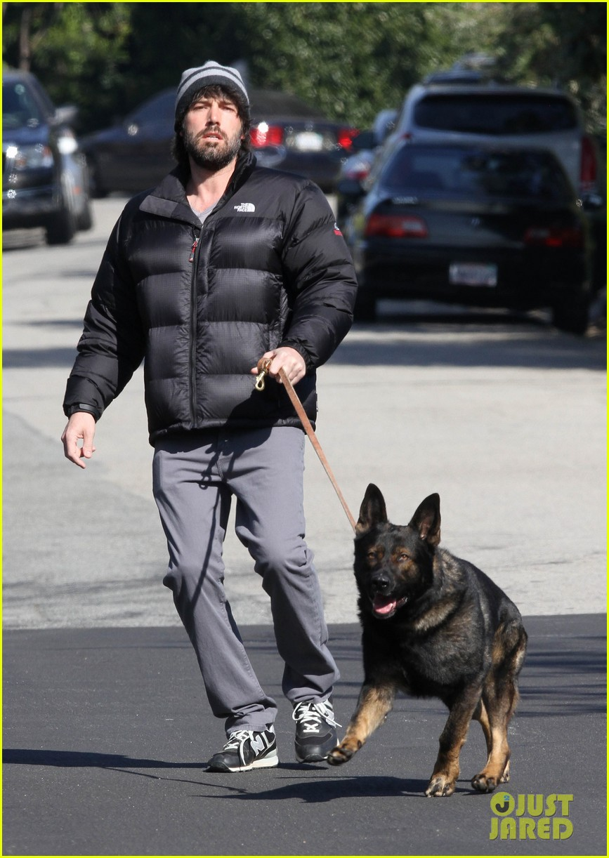 jennifer garner pregnant errands ben affleck walking dog 15