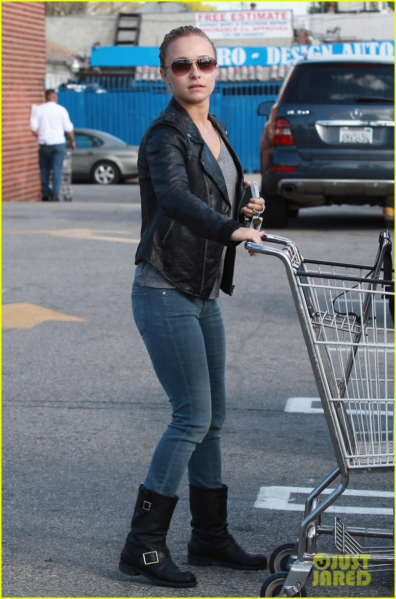 hayden panettiere grocery shopping 012621182