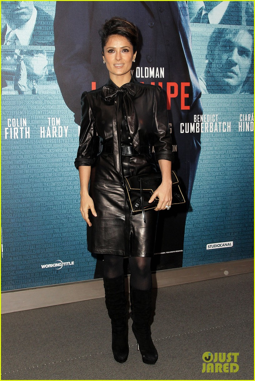 salma hayek tinker tailor paris premiere 02