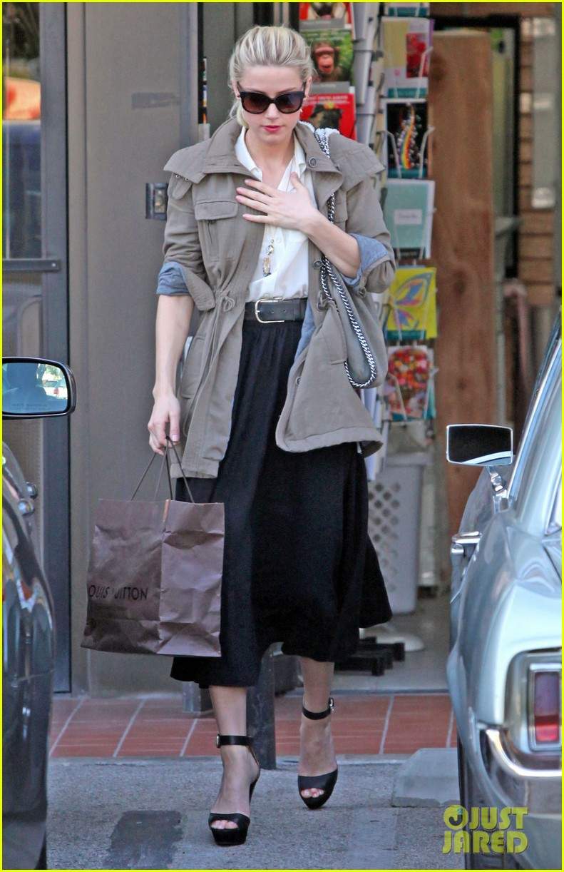 amber heard shopping errands 03