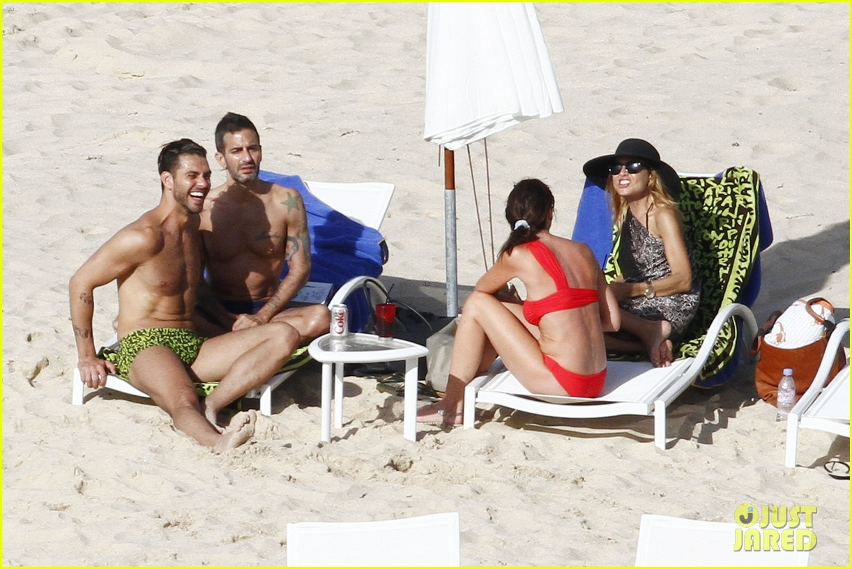 marc jacobs shirtless in st barts on new years day 022613939