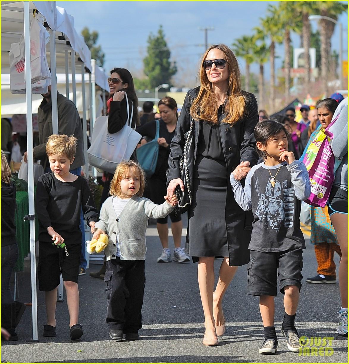 Angelina jolie kids ages