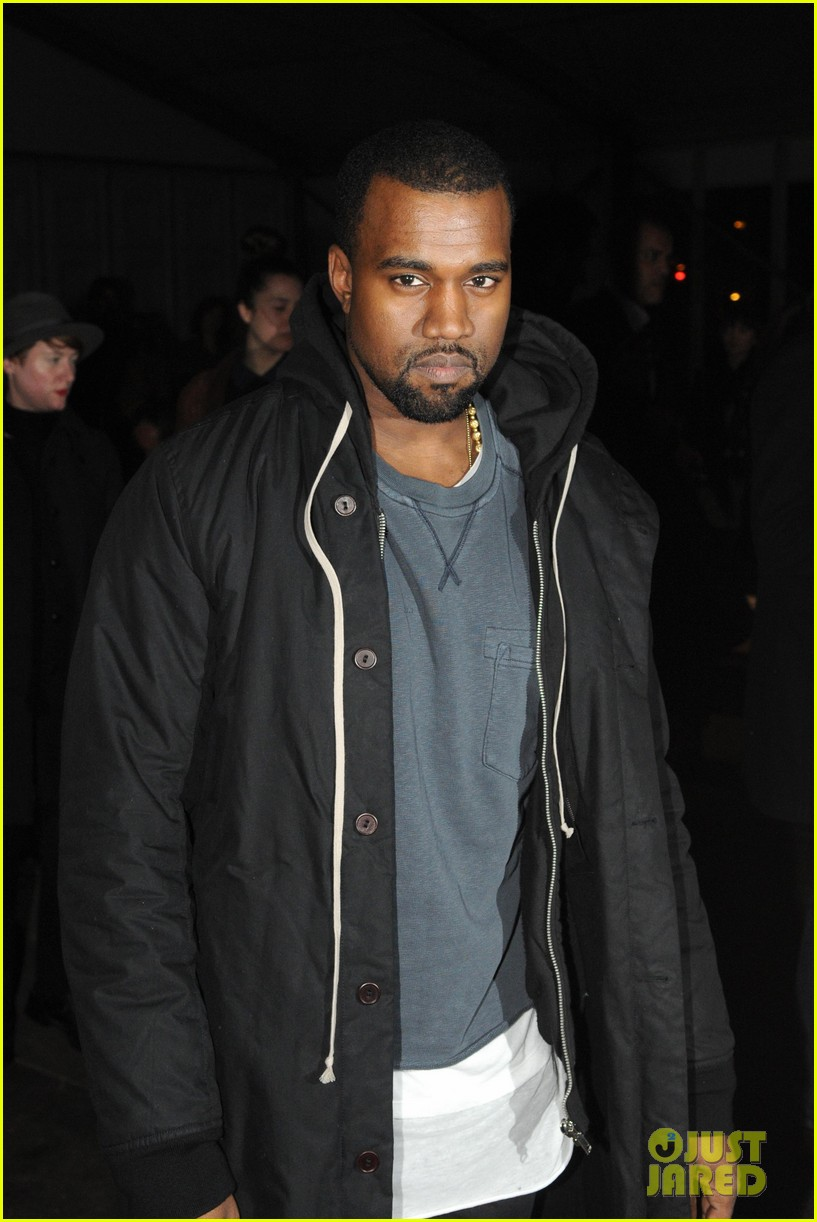 kanye west givenchy front row 052620680