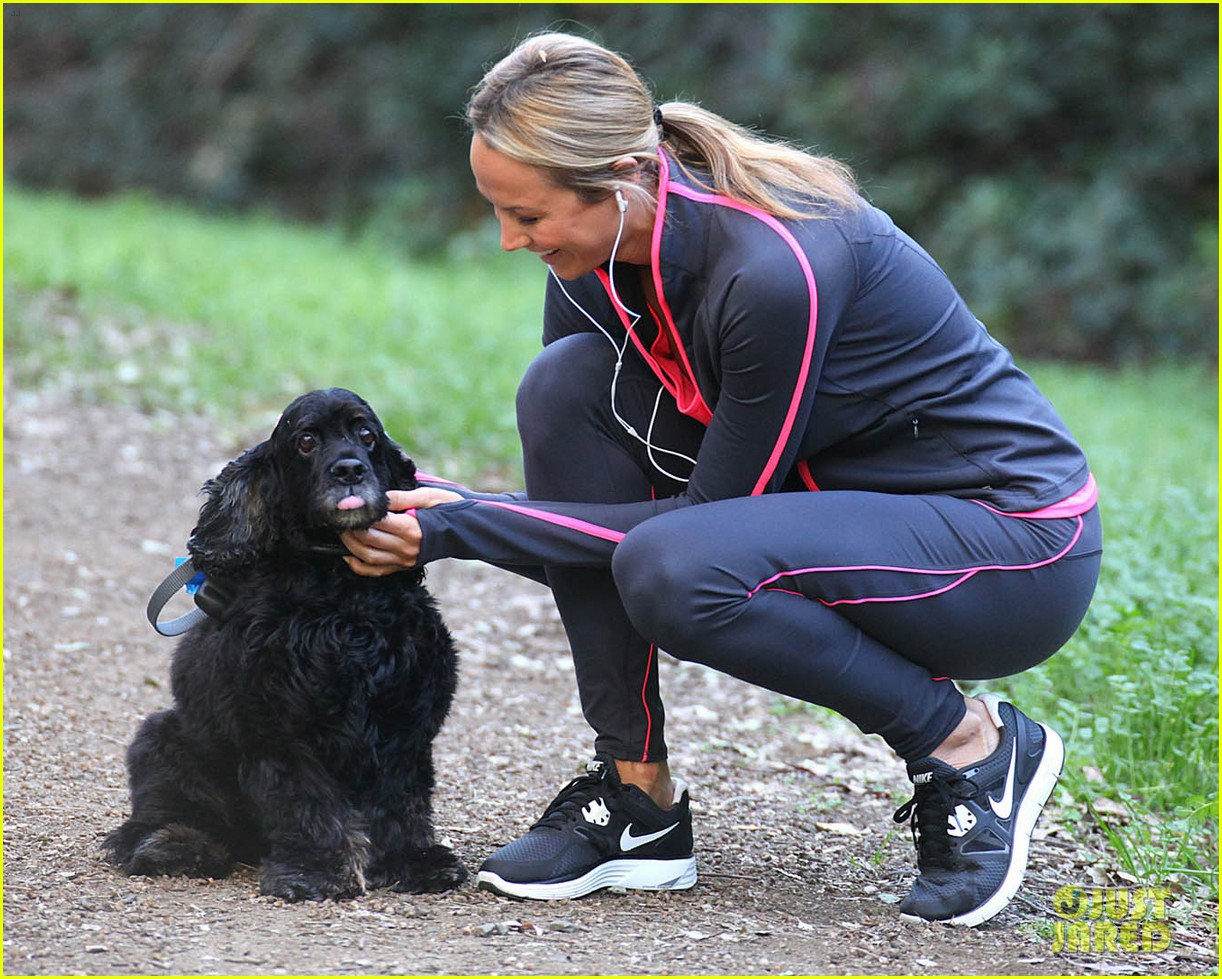 stacy keibler george clooney dog 162615213