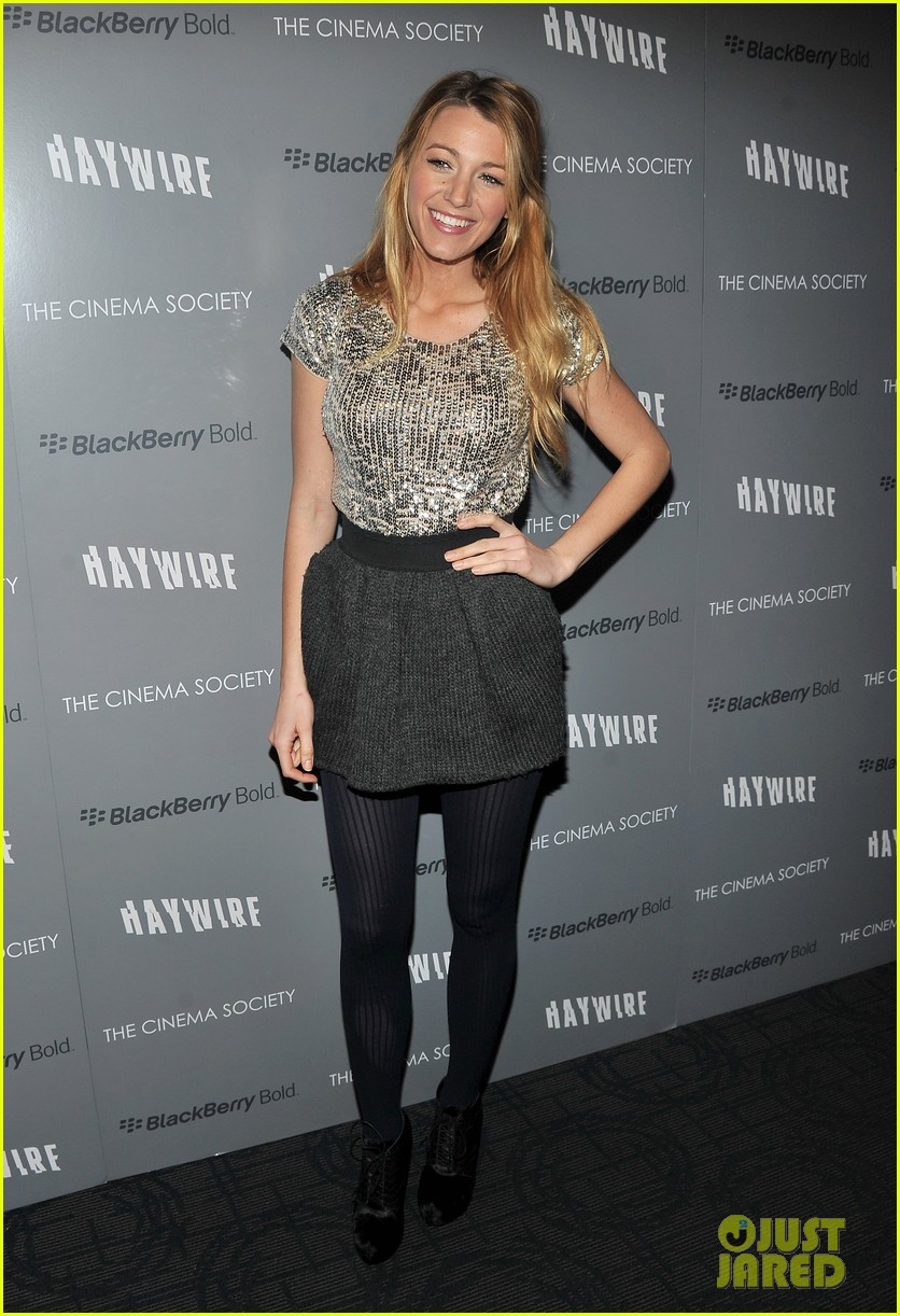 blake lively haywire screening 11