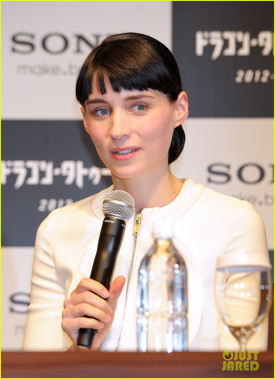 rooney mara tokyo press conference 07