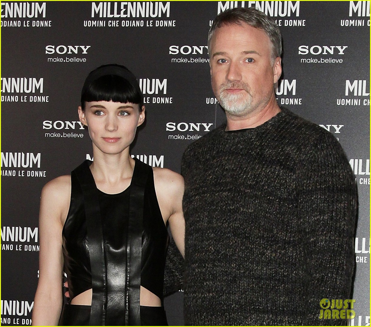 rooney mara rome premiere dragon tattoo 012615965