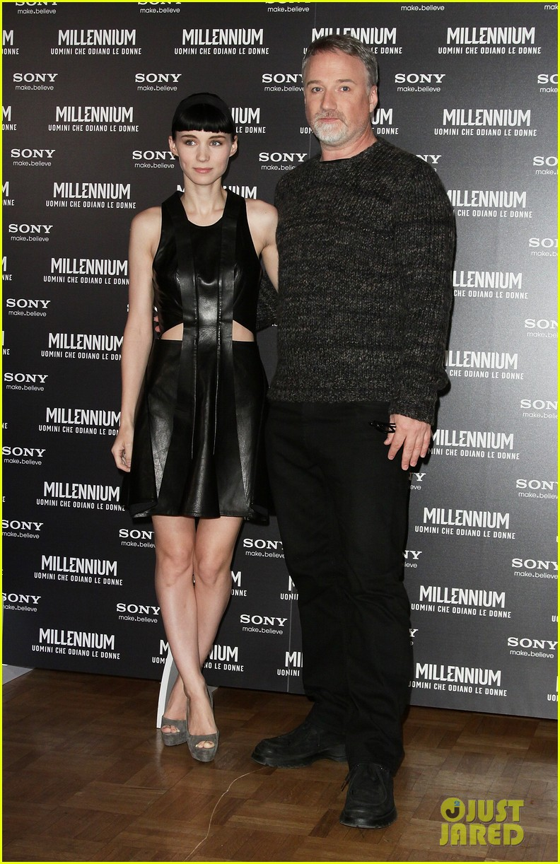 rooney mara rome premiere dragon tattoo 032615967