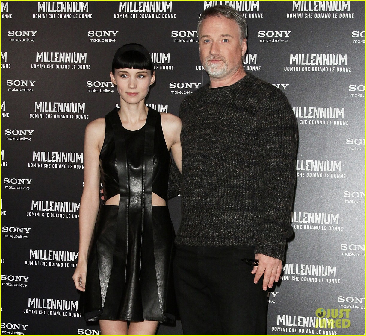 rooney mara rome premiere dragon tattoo 05