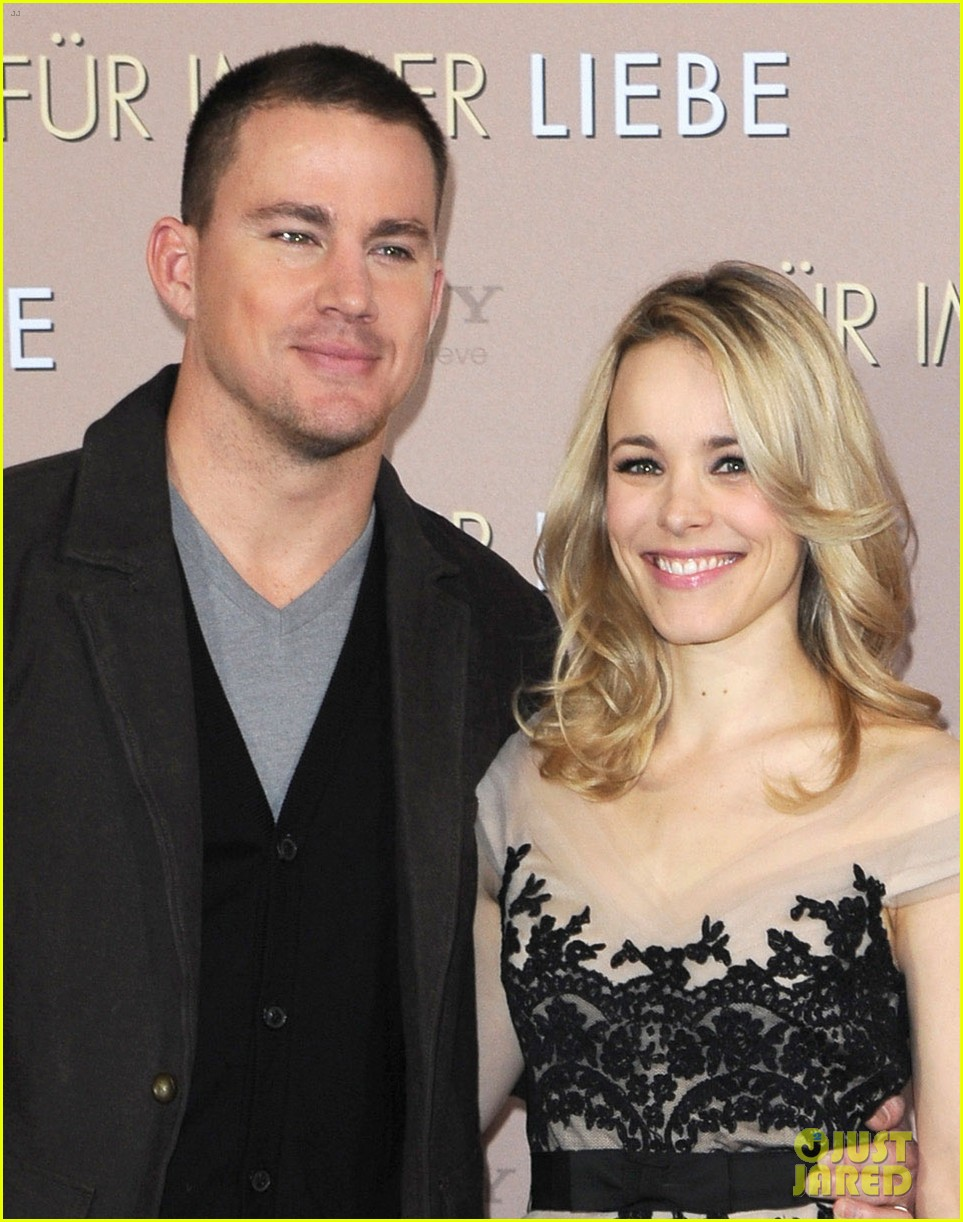 rachel mcadams channing tatum the vow german photo call 02