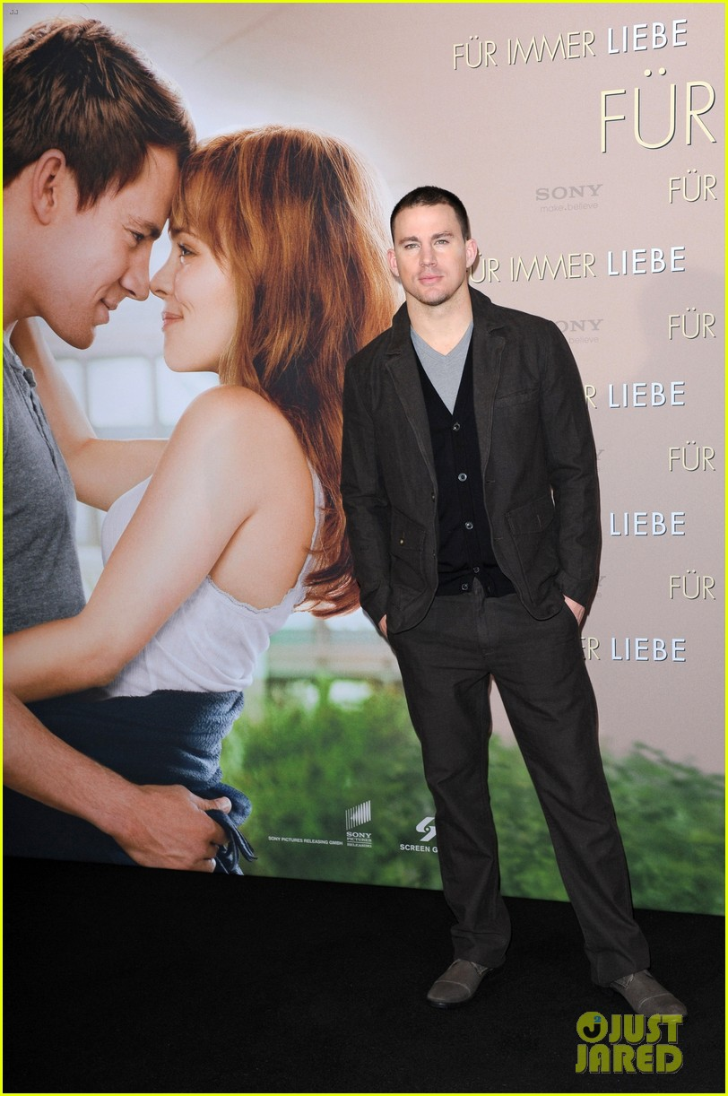 rachel mcadams channing tatum the vow german photo call 03