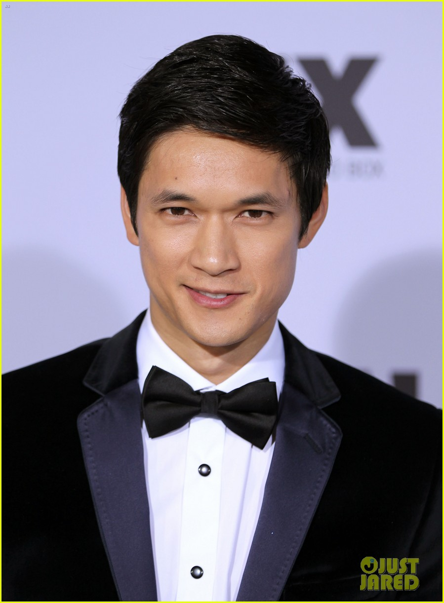jenna ushkowitz harry shum fox after party 02
