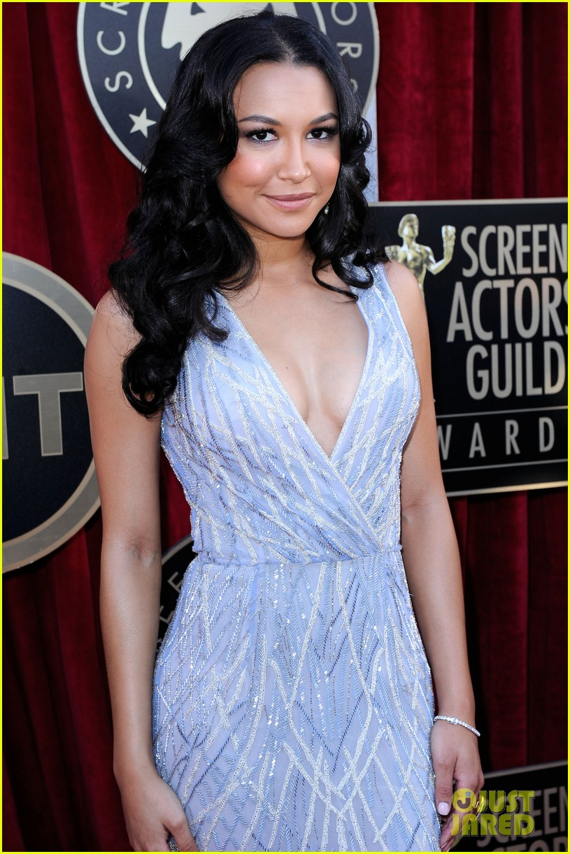 naya rivera heather morris sag awards 02