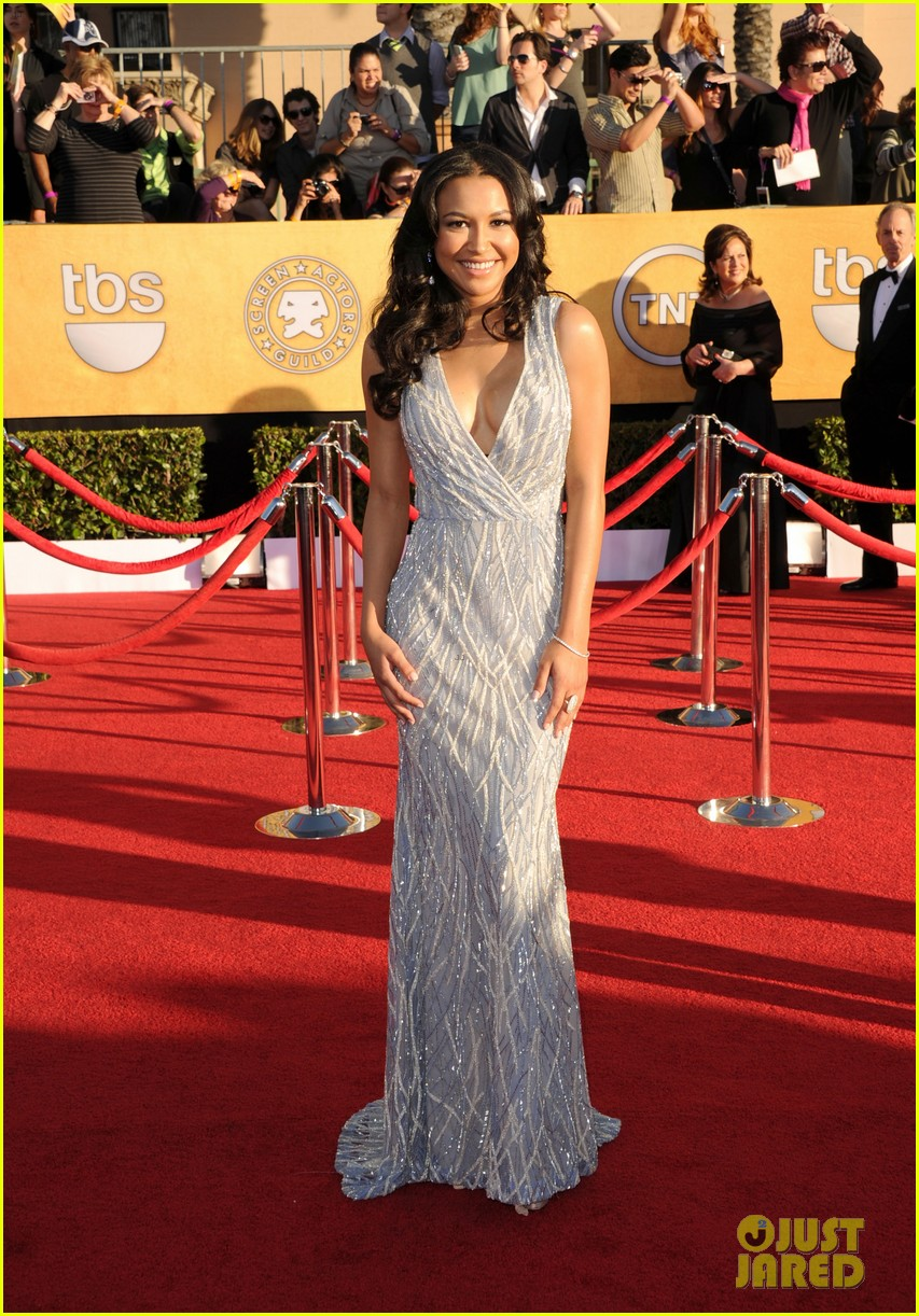 naya rivera heather morris sag awards 03