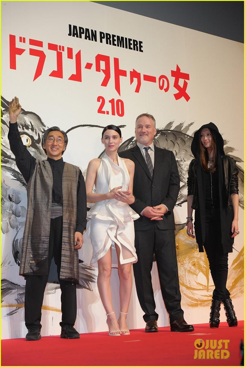 rooney mara dragon tattoo tokyo premiere 03