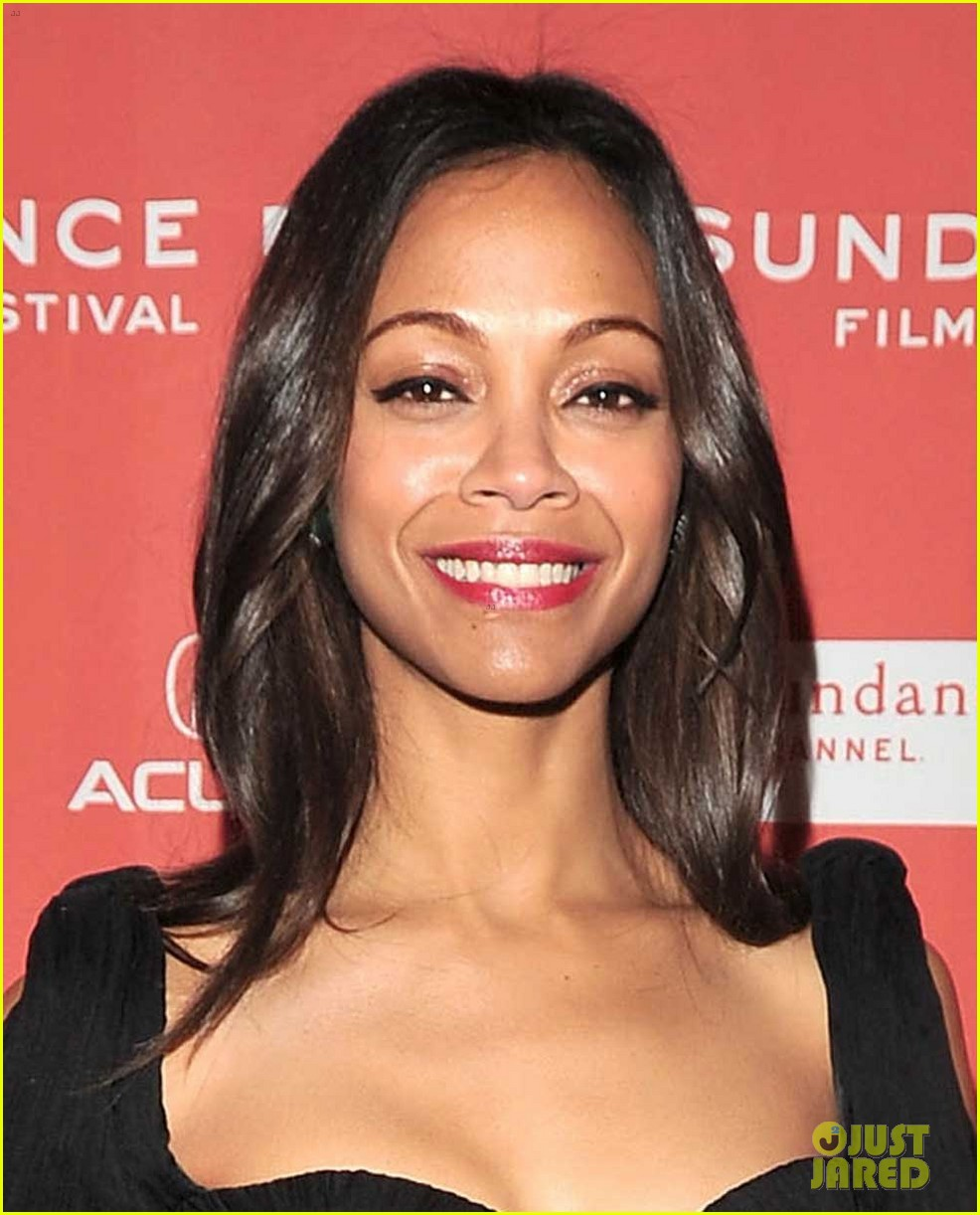 zoe saldana bradley cooper the words premiere 03