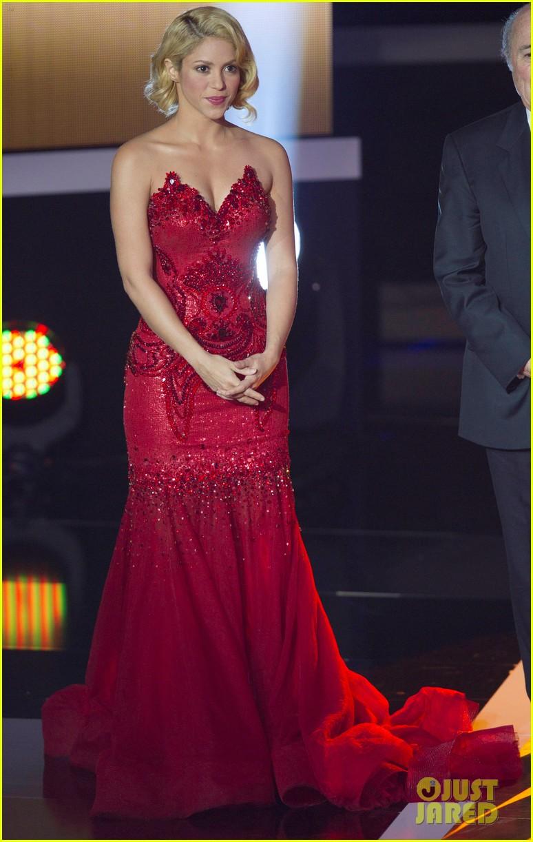 Shakira: FIFA Ballon d\'Or Gala With Gerard Pique!: Photo 2616164 ...
