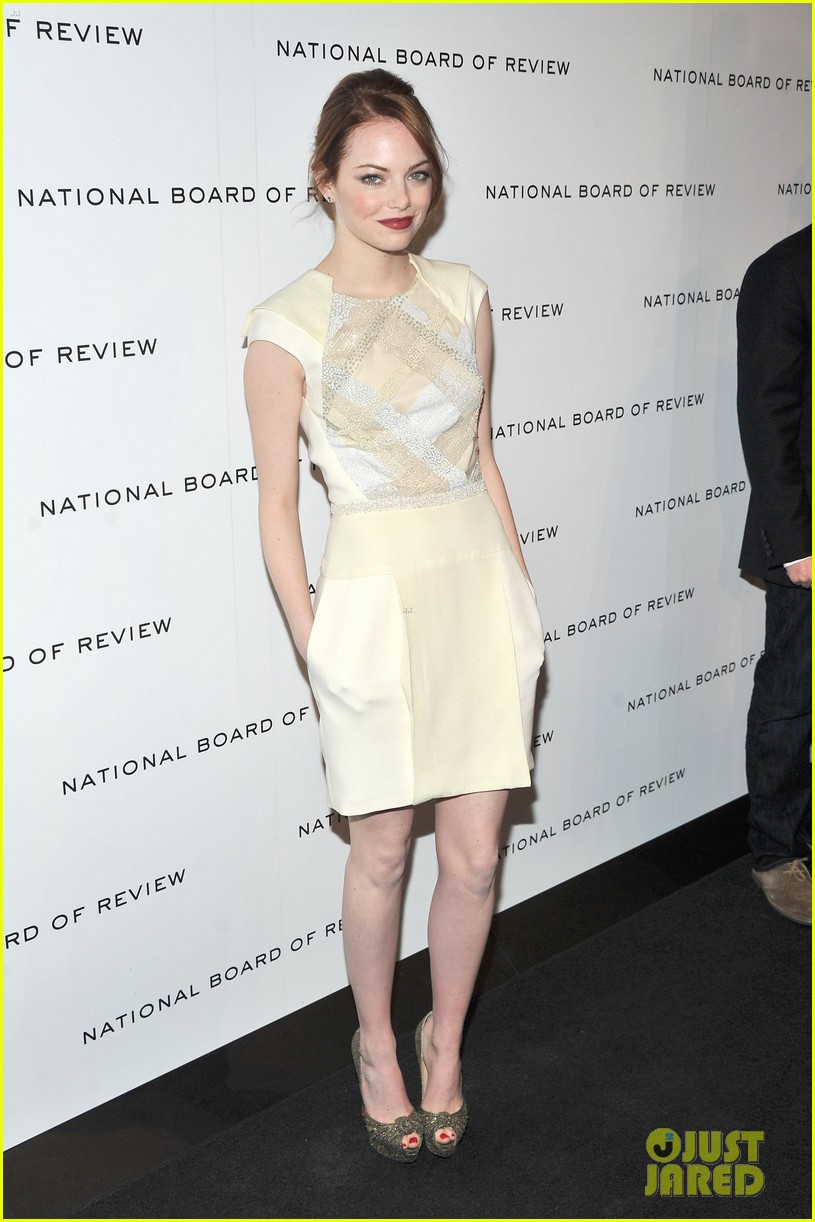 emma stone jessica chastain national board review 03