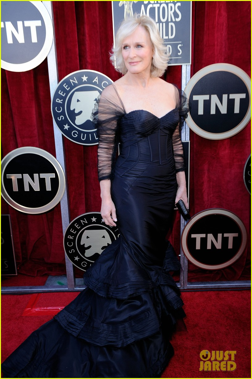 meryl streep glenn close sag awards 2012 01