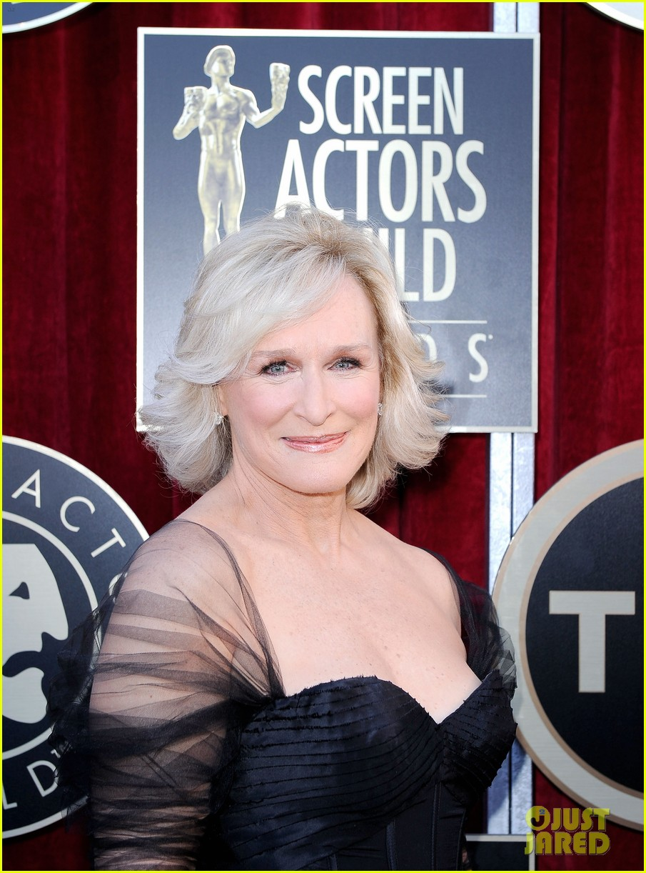 meryl streep glenn close sag awards 2012 07