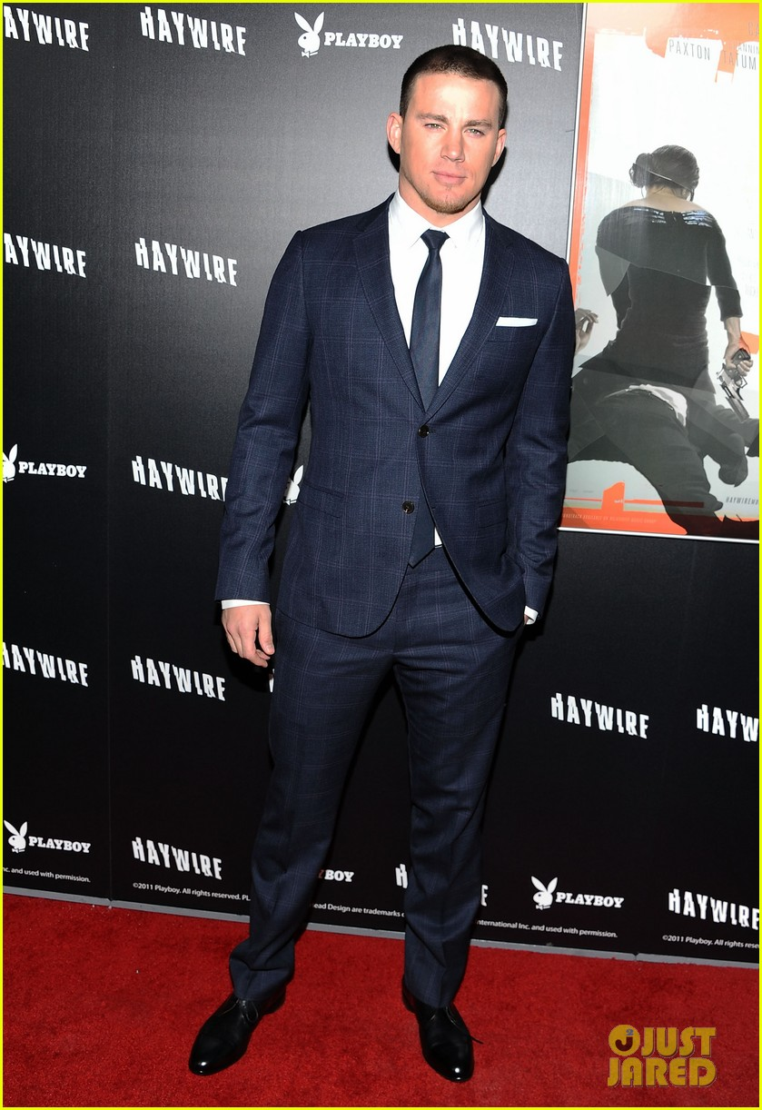 channing tatum haywire premiere with jenna dewan 02