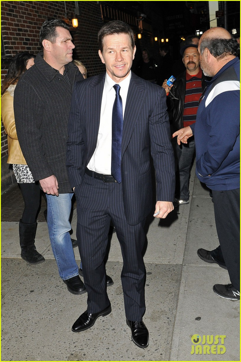 mark wahlberg late show with david letterman visit 10