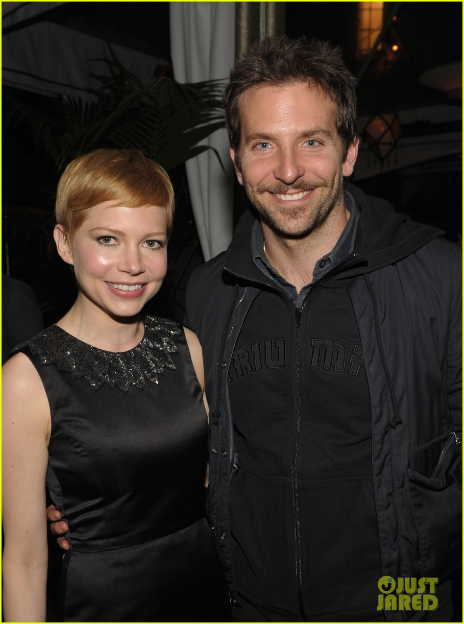 michelle williams bradley cooper weinstein party 05