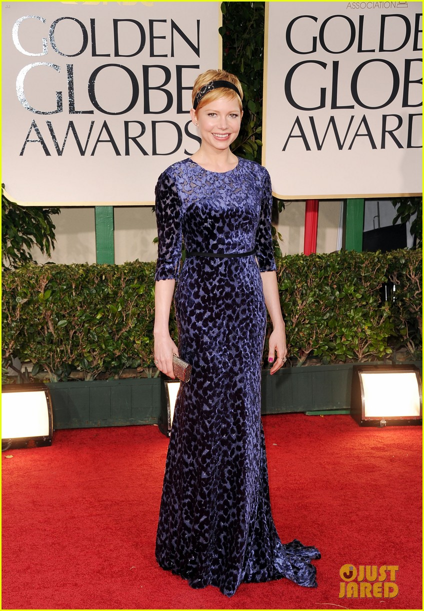 michelle williams golden globes 02
