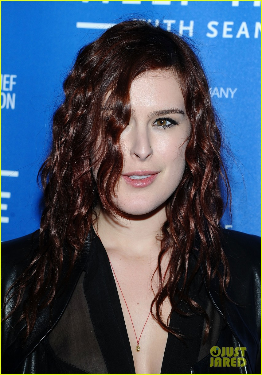 demi moore rumer willis haiti benefit 02