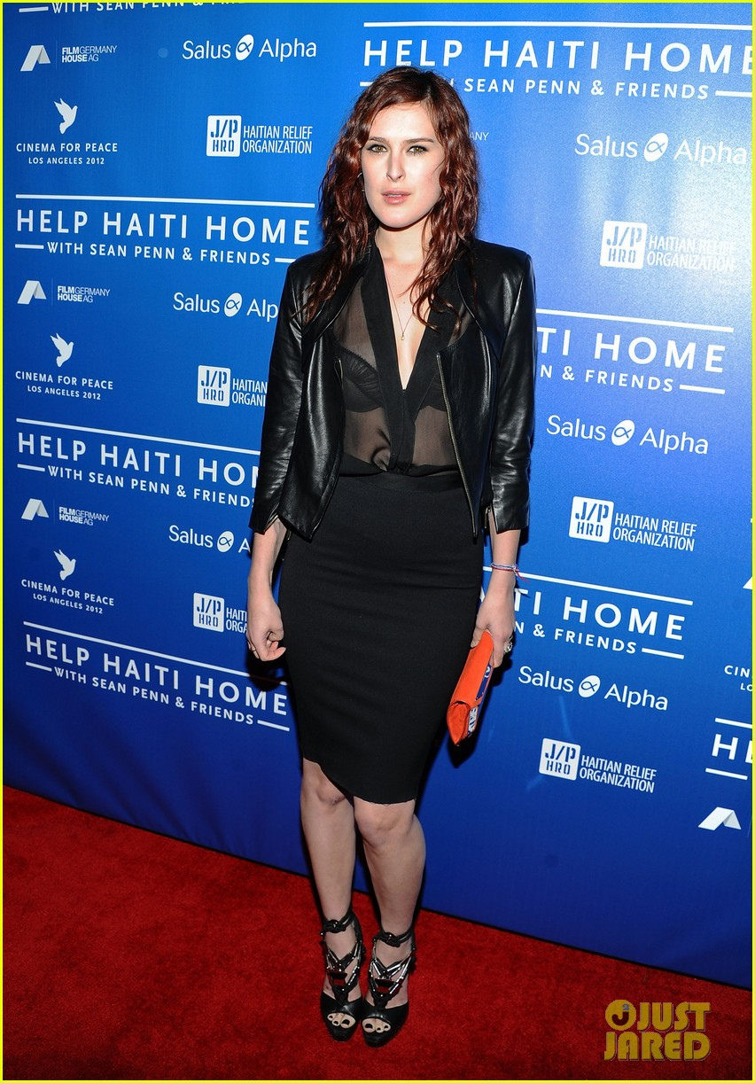 demi moore rumer willis haiti benefit 13