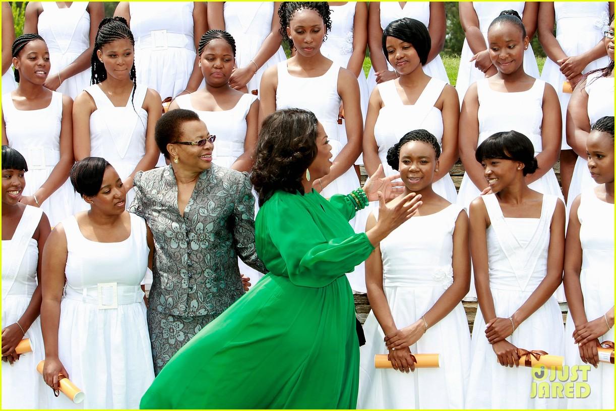 oprah winfrey leadership academy graduation 13