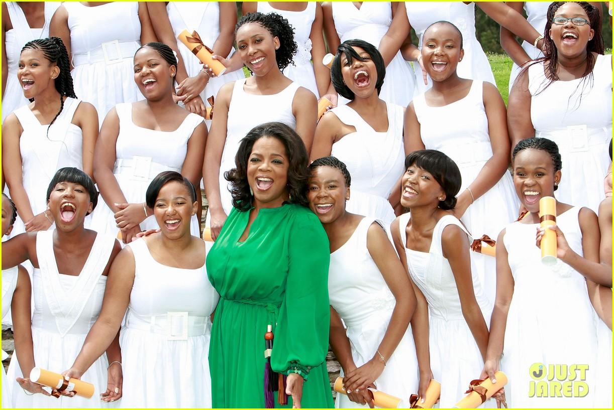 oprah winfrey leadership academy graduation 142617568
