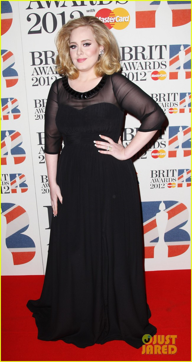 adele brits red carpet mr hudson jessie j 022631531
