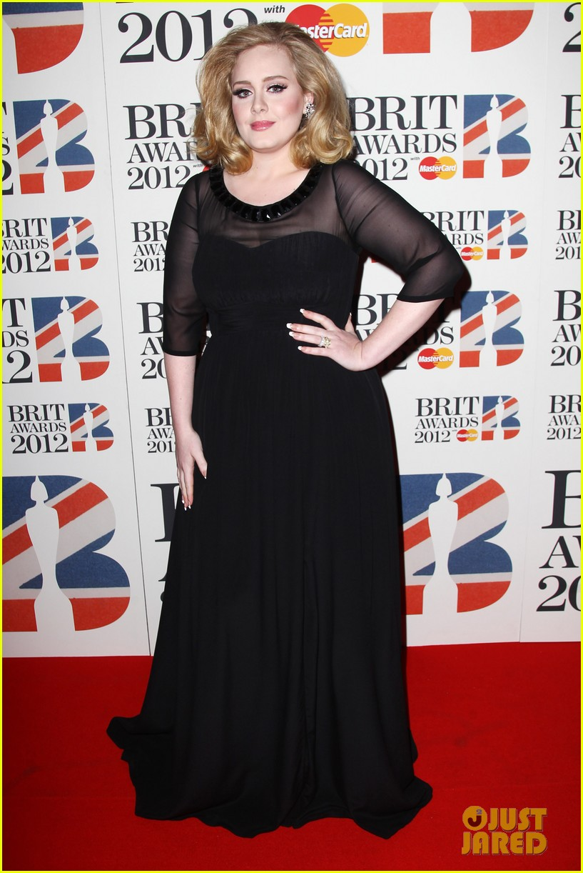 adele brits red carpet mr hudson jessie j 052631534