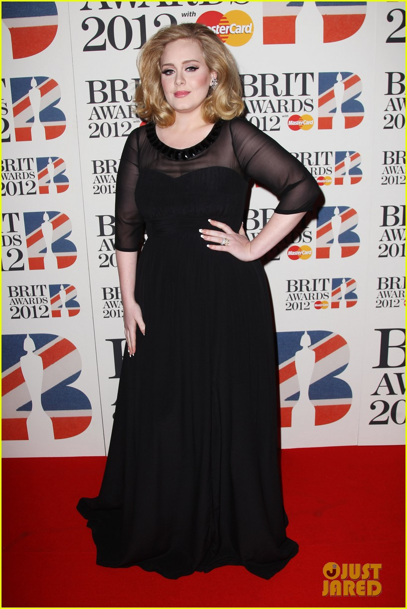 adele brits red carpet mr hudson jessie j 162631545