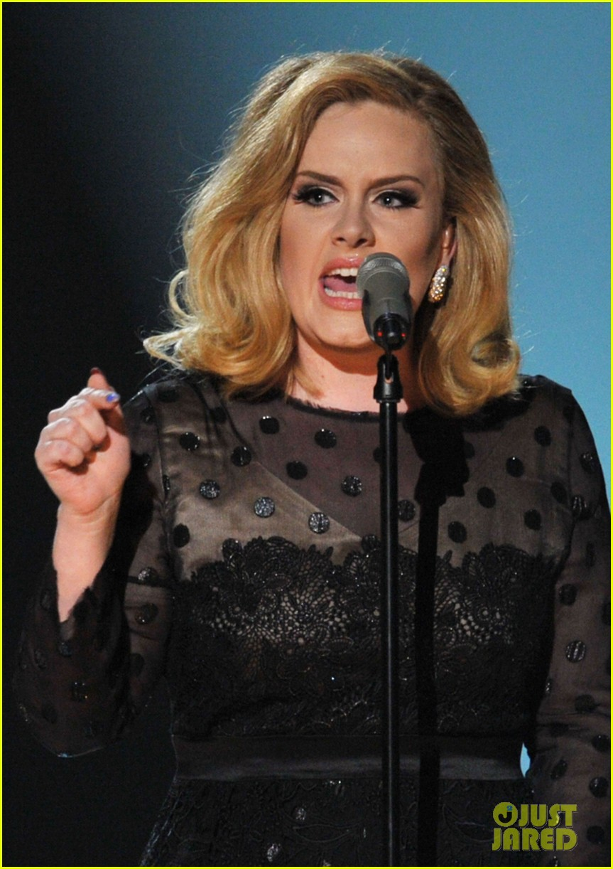adele grammys performance 09
