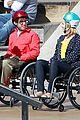 dianna agron kevin mchale wheelchairs glee 01
