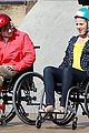 dianna agron kevin mchale wheelchairs glee 06