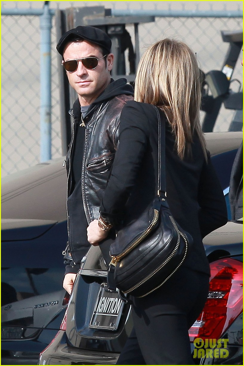 jennifer aniston kimmel justin theroux 052631269