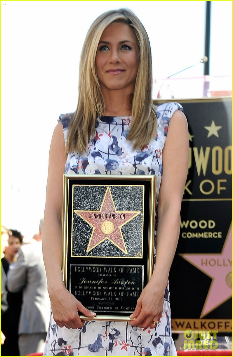 jennifer aniston star hollywood walk of fame 05