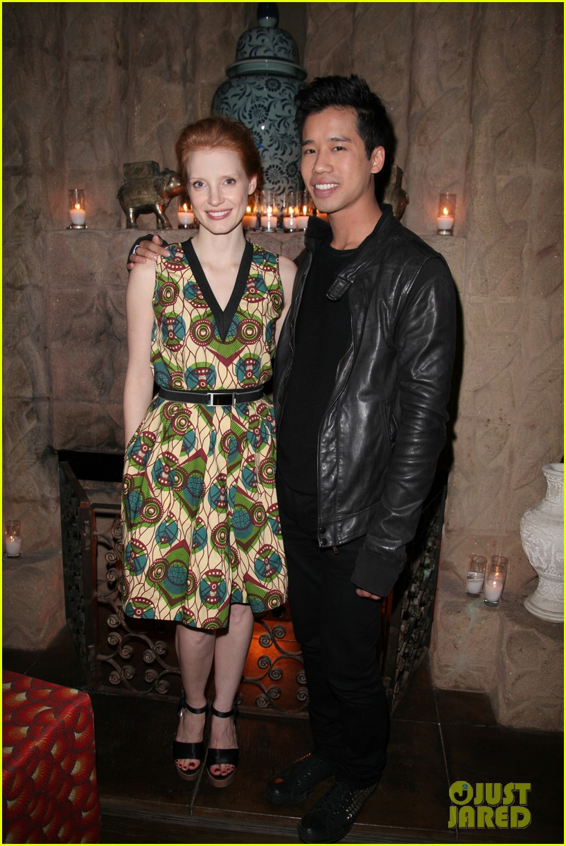 drew barrymore jessica chastain marni for hm 012630272